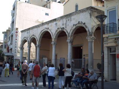 Heraklion, l'ancienne église Saint-Marc, aujourd'hui musée des Beaux-Arts