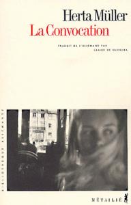 Couverture de la Convocation de Herta Müller