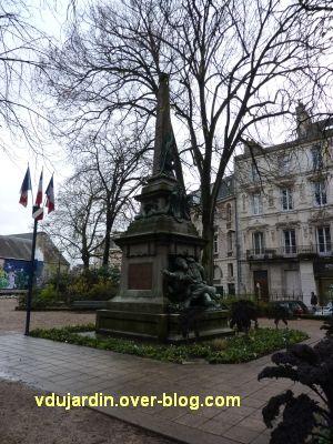 Poitiers, monument aux morts de 1870, 1, l'ensemble