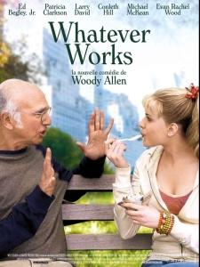 Affiche de Whatever works, de Woody Allen