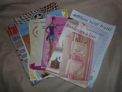 Les livres achetés à l'AEF 2010