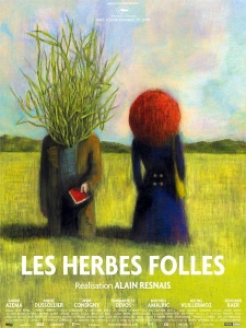 Affiche des herbes folles d'Alain Resnais