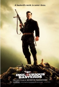 Affiche de Inglourious basterds de Quentin Tarantino