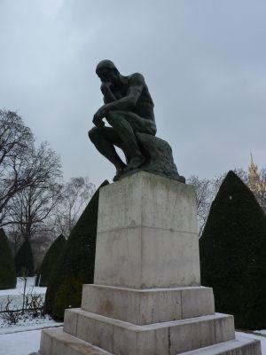 Le Penseur de Rodin, au musée Rodin à Paris