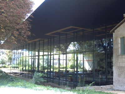 Le musée de Vesunnia vu de près