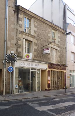 La galerie Hilaria à Poitiers