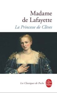Couverture de la princesse de Clèves en classique du livre de poche
