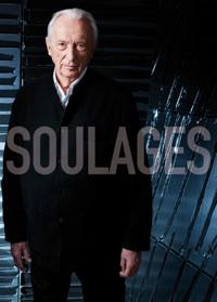 Visuel de l'exposition Soulages à Beaubourg