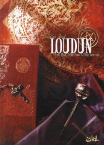 Couverture de la BD sur Loudun