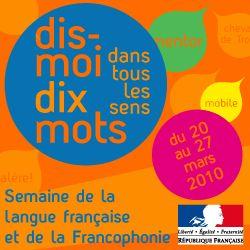 Bandeau des dix mots de la semaine française