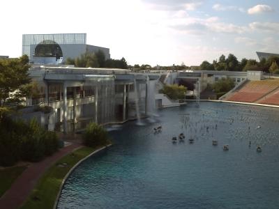 Parc du futuroscope près de Poitiers