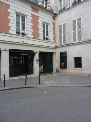 L'entrée du musée national Delacroix à Paris