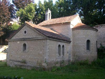 La chapelle du Pas-de-Dieu, résidence Jean-Jaurès à Poitiers