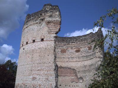 Périgueux, la tour de Vésonne, la partie haute