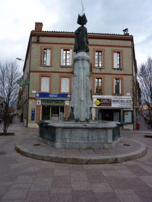 Toulouse, fontaine Belle Paule, vue générale