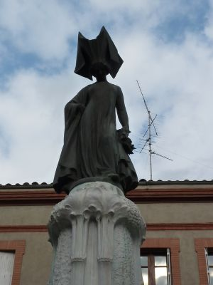Toulouse, fontaine Belle Paule, une autre vue de la dame Clémence