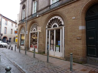 Façade de la mercerie Le petit comptoir à Toulouse