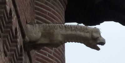 Toulouse, musée Saint-Raymond, façade principale, gargouille 4