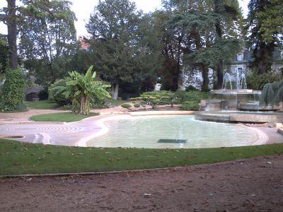 L'amphithéâtre de Périgueux, le jardin public