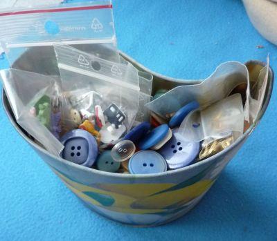 Ma boîte à boutons