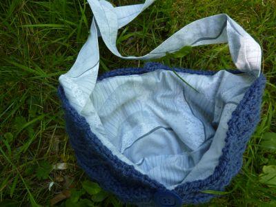 Brea Bag de nananne terminé pour le SAl suffit, ouvert