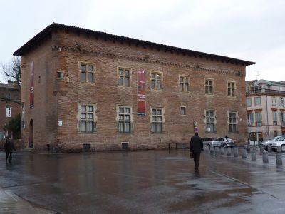 Toulouse, le musée Saint-Raymond, façade postérieure