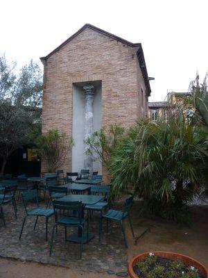 Toulouse, le musée Saint-Raymond, jardin