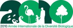 Logo de 2010, année de la biodiversité