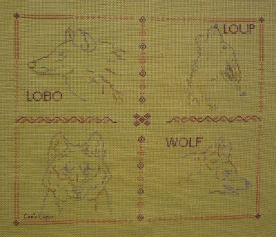 Les quatre loups de la grille de Sacha