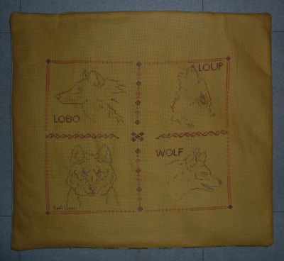 Concours loup 2010, le troisième loup finitionné en grande trousse, le devant