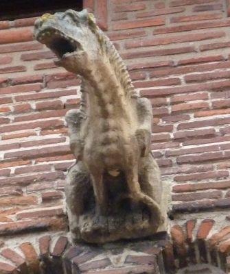 Toulouse, musée Saint-Raymond, façade postérieur, gargouille 3