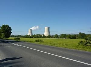 La centrale nucléaire de Civaux dans le département de la Vienne