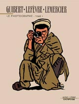 Couverture du tome 1 du photographe