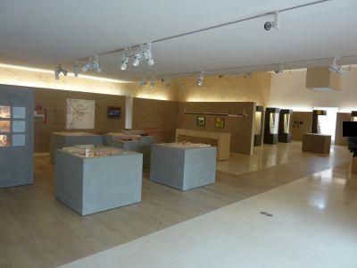 La sabline, musée de Préhistoire, première salle