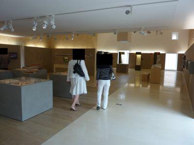 La sabline, musée de Préhistoire, deuxième salle