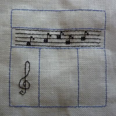 SAL En juin j'suis musicien, la troisième étape avec la clef de sol