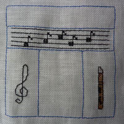 SAL en juin je suis musicien, les premières étapes, portée, clef de sol et flûte