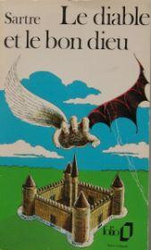 Couverture du Diable et le Bon Dieu de Sartre, en vieux Folio