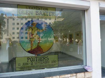 Expédition Glen Baxter à Poitiers, 12 juin-12 septembre 2010, au CRDP