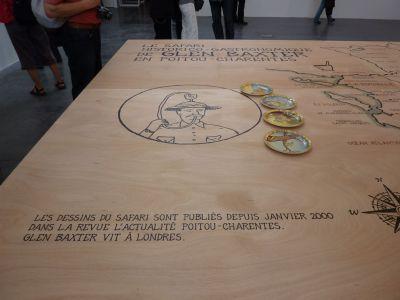 Expédition Glen Baxter à Poitiers, 12 juin-12 septembre 2010, à la maison de l'architecture