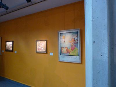 Expédition Glen Baxter à Poitiers, 12 juin-12 septembre 2010, au musée