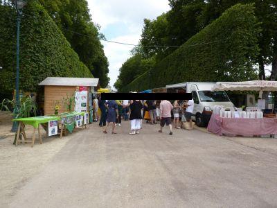 Poitiers, Bienvenue à la ferme 2010 dans le parc de Blossac, les stands