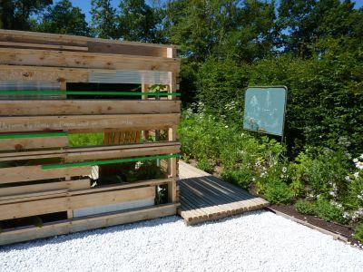Chaumont-sur-Loire, festival 2010, le jardin 14, 4, le meuble central