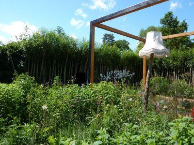 Chaumont-sur-Loire, festival 2010, le jardin 16, la partie jardin