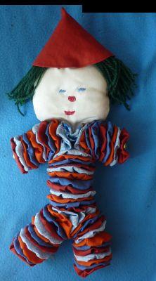 Le clown, premier assemblage