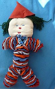 Le clown, deuxième assemblage