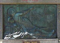 Monument aux morts de Briey, 2 vue générale