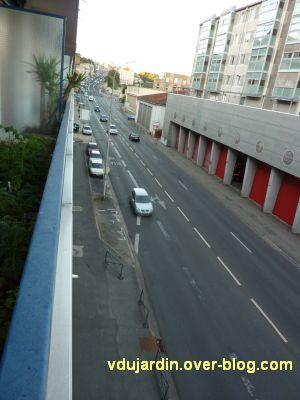 Poitiers, coeur d'agglo, 30 août 2010, vue 1, boulevard Pont Achard depuis mon balcon