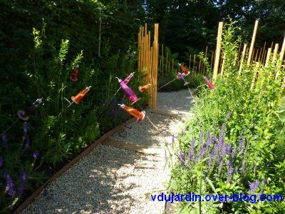Chaumont-sur-Loire, festival 2010, le jardin 12, vue 3, aromathérapie