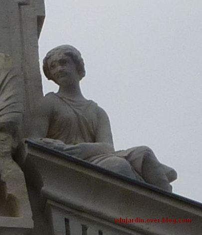 Poitiers, le cercle du commerce, portrait de la donatrice